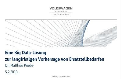 Prognosen mit Big Data