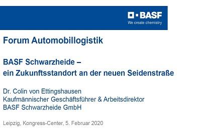 BASF Zukunftsstandort