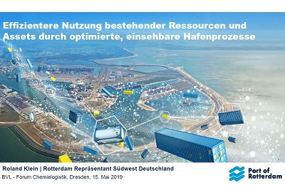 Service im Port of Rotterdam