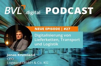 Digitalisierung der Logistik